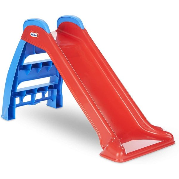 ittle Tikes First Slide (Red-Blue) - Indoor - Outdoor Toddler Toy
