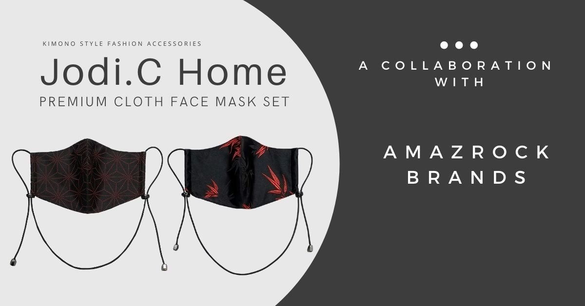 "Amazrock Product Warranty for ""Jodi.C Home Premium Fabric Face Masks Set – Silk & Cotton | 2 Kimono Style Cloth Face Mask Reusable"""