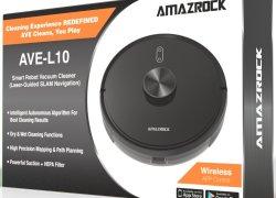 Amazrock AVE-L10 – Smart Robot Vacuum and Mop (LIDAR Navigation)