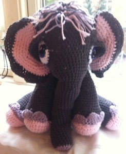 amigurumi elefant hæklet elefant