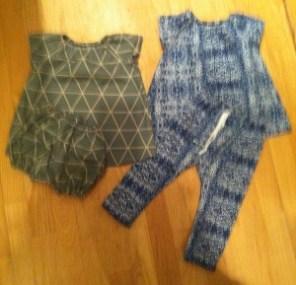 Sy selv Kjole og harems buks til baby DIY