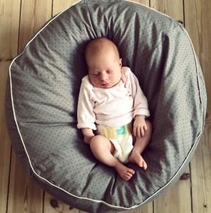 Sy selv sækkestol til baby