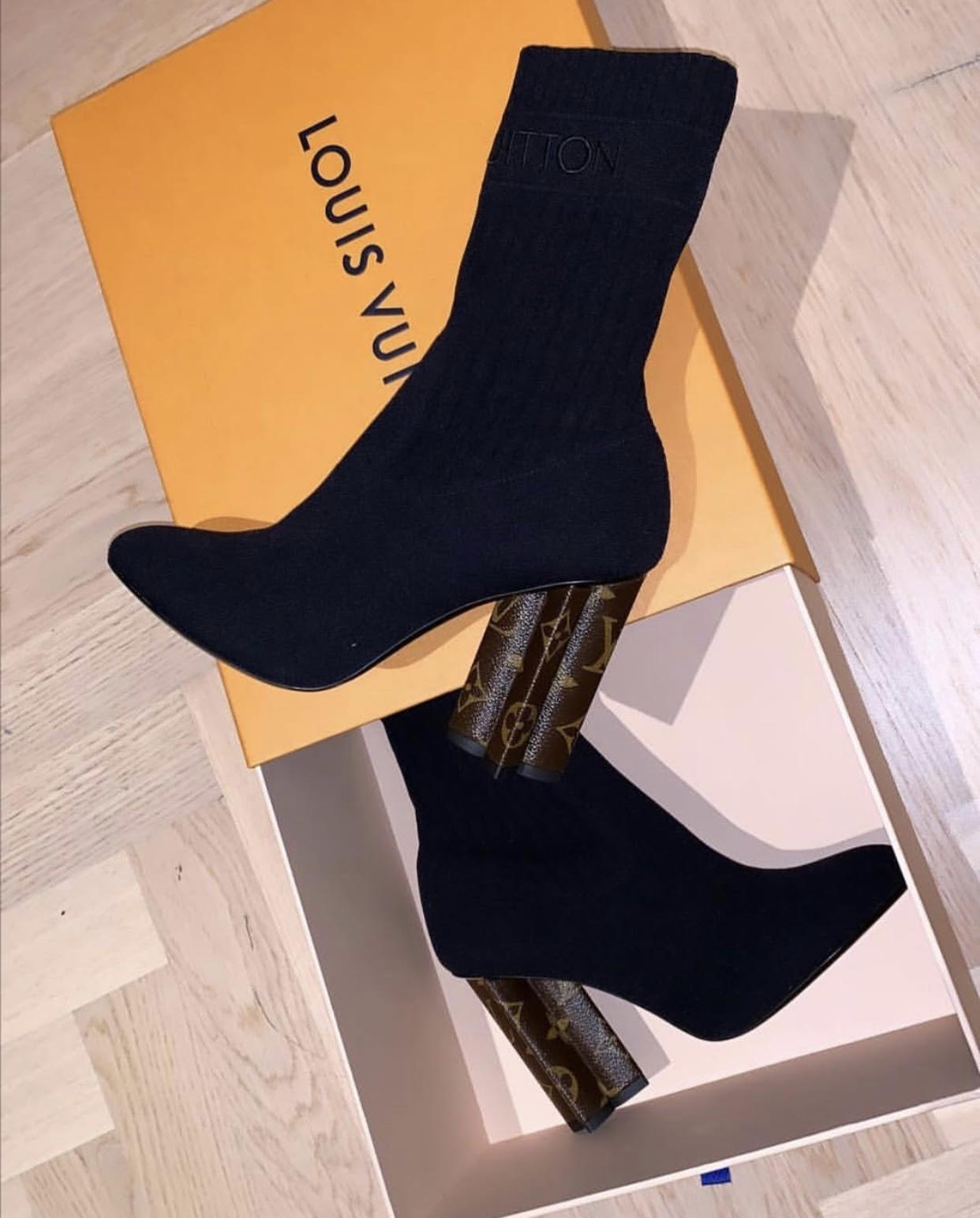 4a22bff38743d1 Today Im going to show you guys some different models of Louis Vuitton  Silhouette Ankle boot. The request for these type of boots is very high and  they are ...