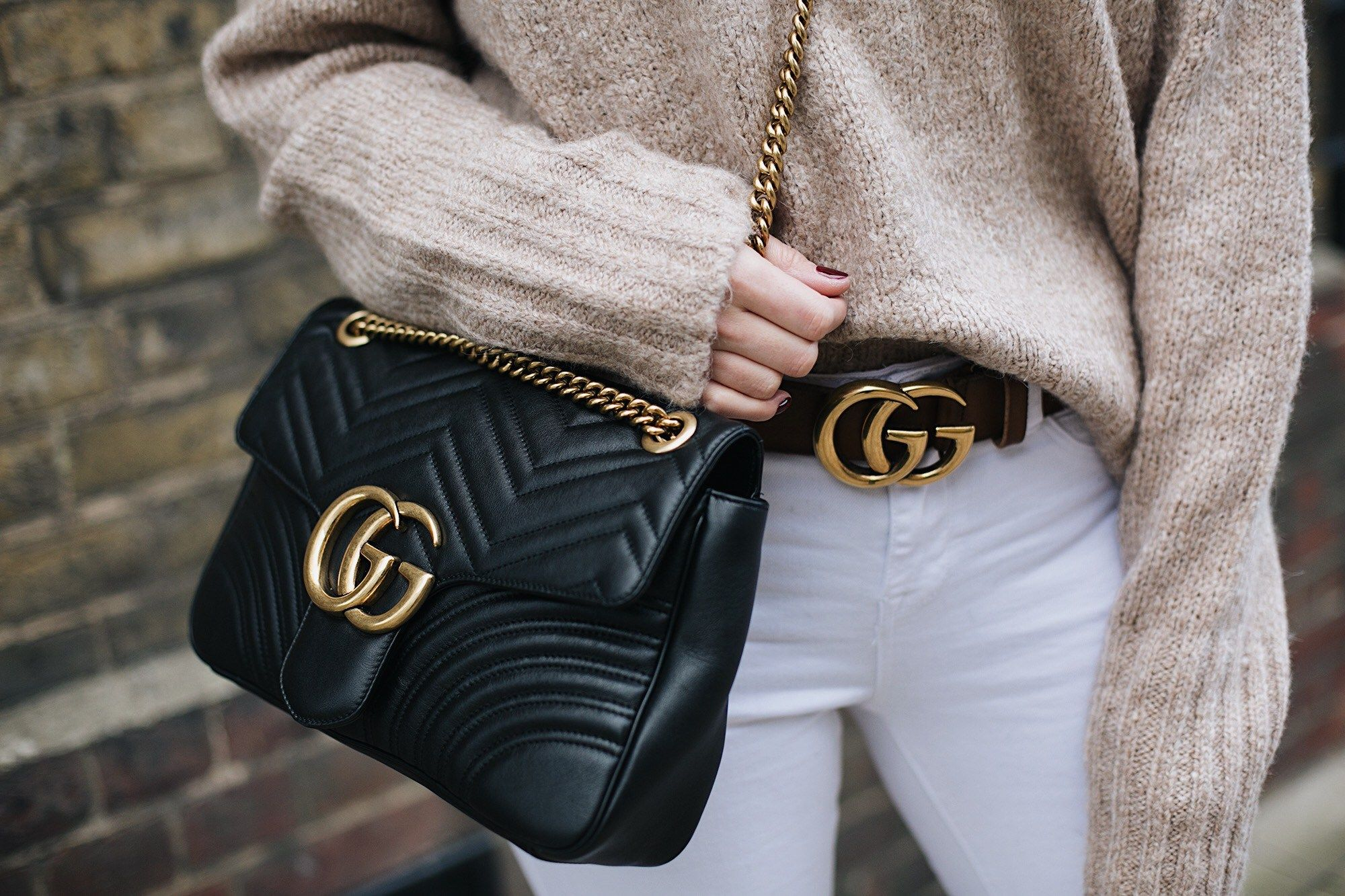 How To Spot A Fake Gucci Marmont Bag , Brands Blogger