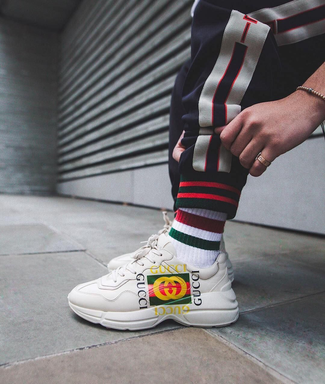 4ea98bf6081 How To Spot Fake Gucci Rhyton Trainers - Brands Blogger