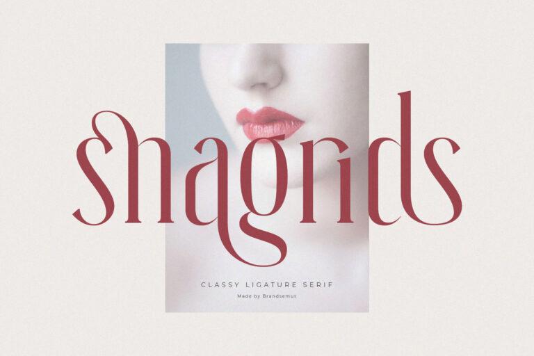 Snagrids || Classy Ligature Serif
