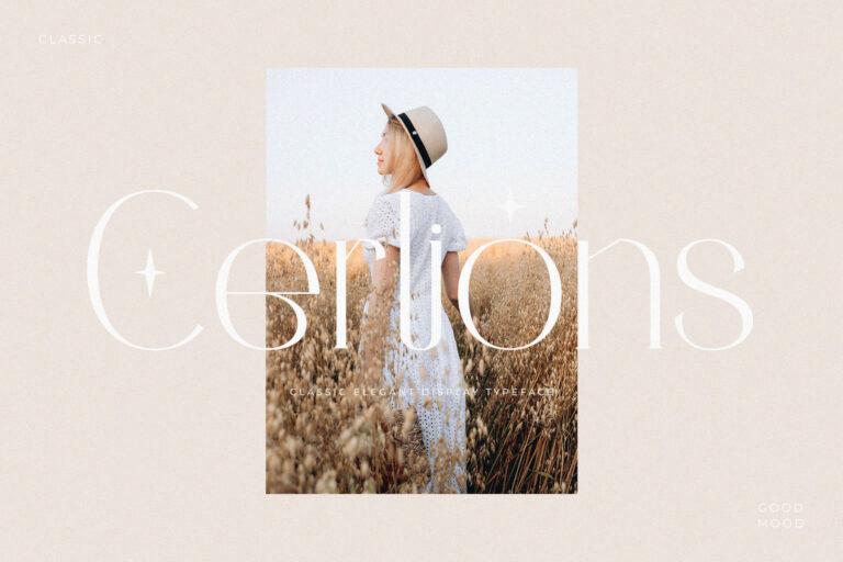 Cerlions - Classic Elegant Display