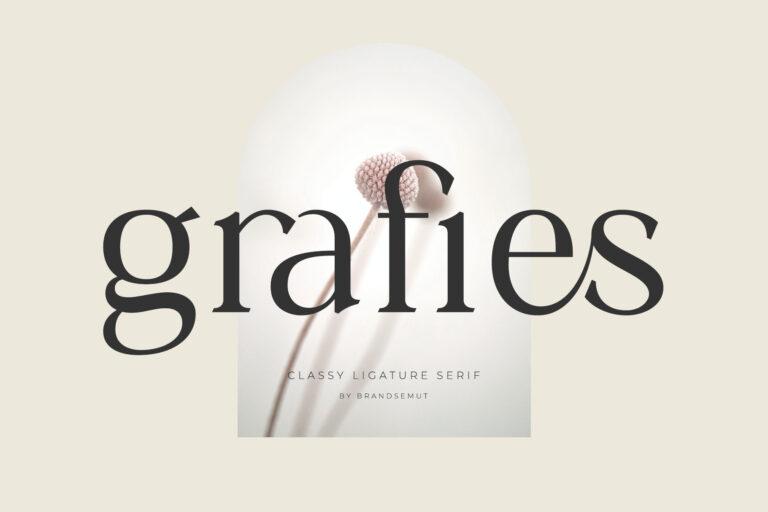 Grafies | Classy Ligature Serif