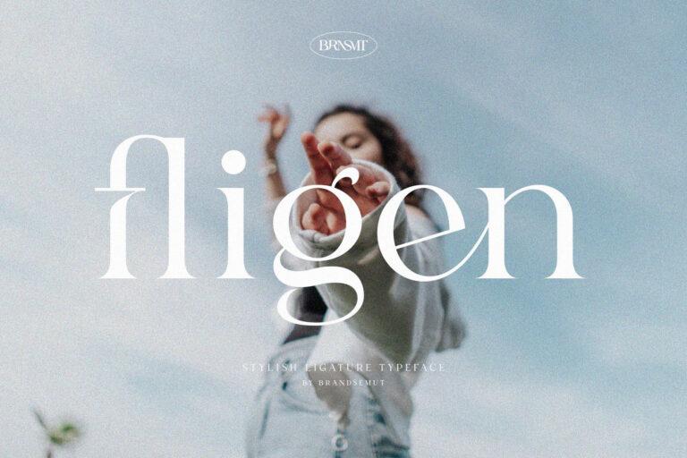 Preview image of Fligen – Stylish Serif