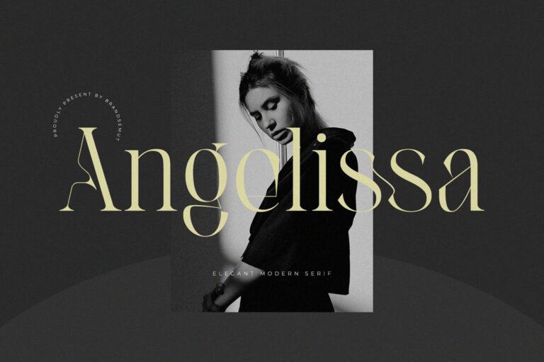 Angelissa - Elegant Modern Serif