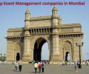 Top Event Management companies in Mumbai