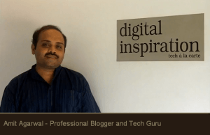 Top 10 Bloggers in india-Amit agarwal