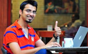 Top 10 bloggers in india-Harsh agarwal
