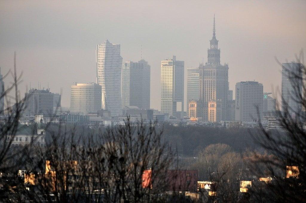 smog Warszawa