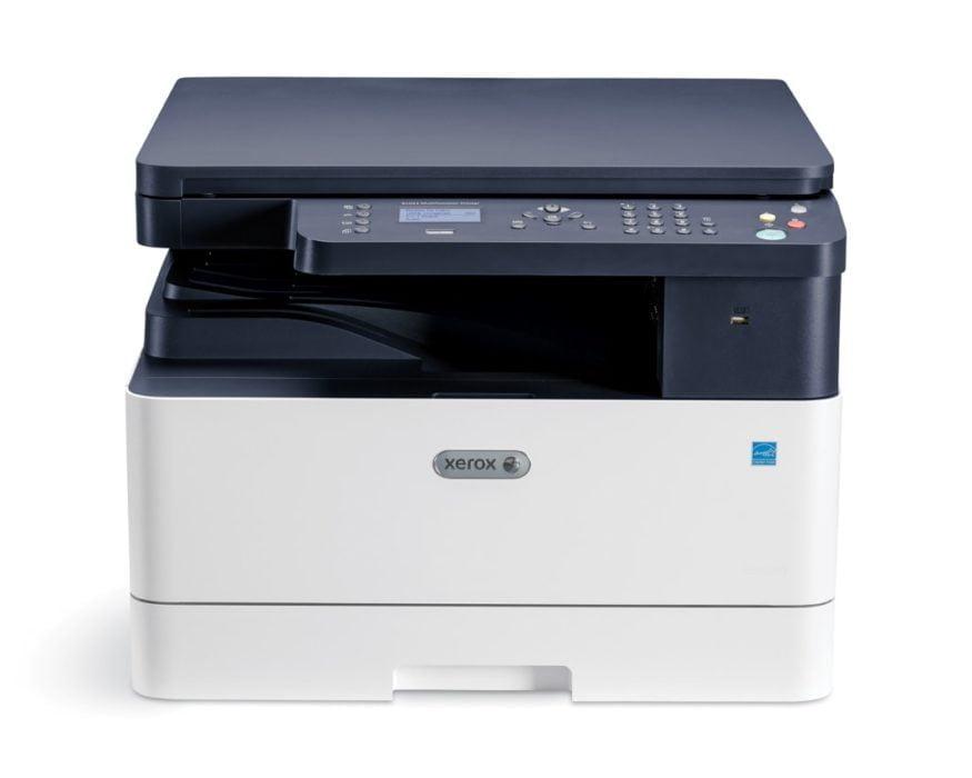 Xerox B1022  Nowe drukarki Xerox zwiększają efektywność? B1022 Front min