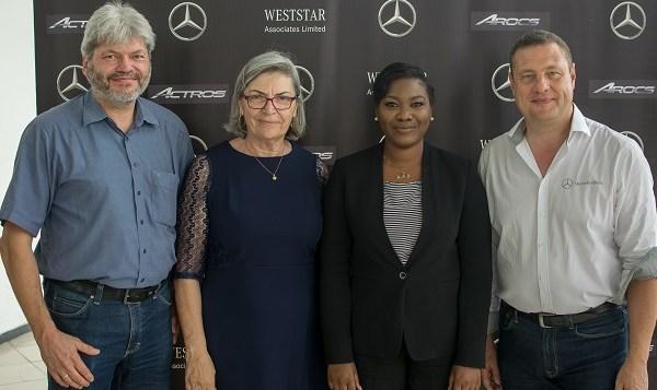 Weststar Associates unveils Mercedes-Benz Actros and Arocs Trucks