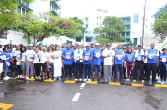 Stanbic IBTC Board Members, Management and Special Guest flagging off the 2018 Walk