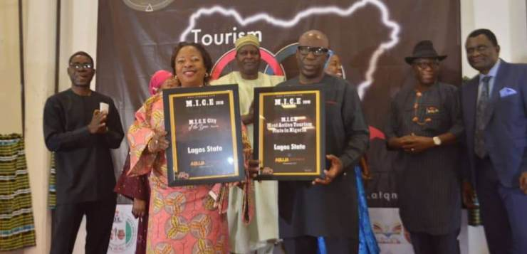 Lagos State Wins Most Active Tourism State in Nigeria