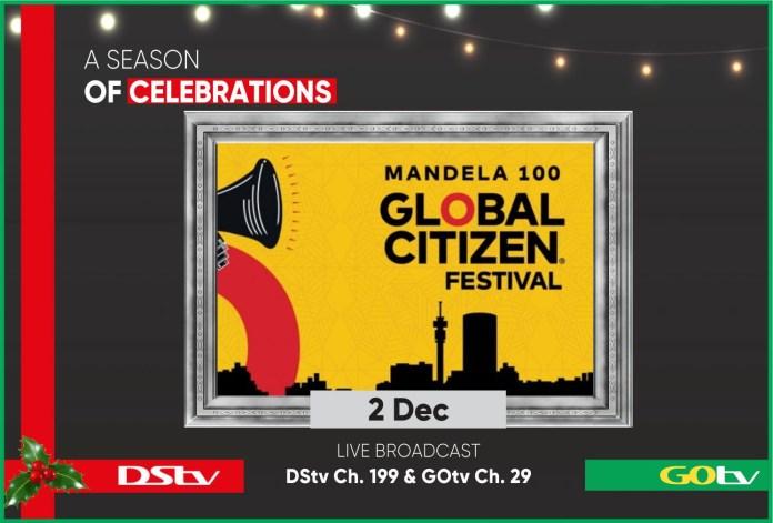 Mandela 100: DSTV To Air Global Citizen Festival - Brand Spur