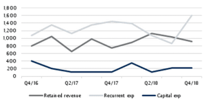 Official reserves stable in January - Brand Spur