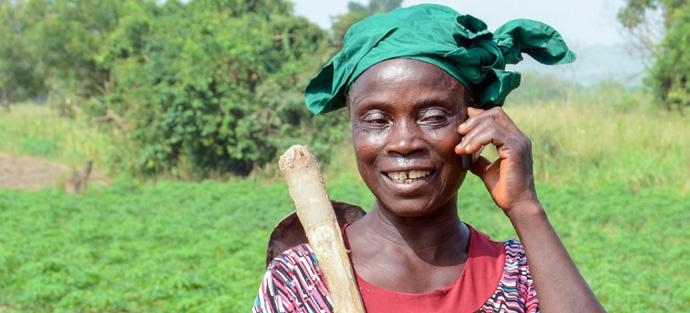 Nigerian farmers get free advisory services on cassava production via mobile phone - Brand Spur