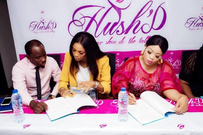 Grace Makun unveiled as Hush'D Brand Ambassador (Photos) - Brand Spur