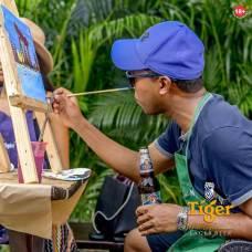 Tiger Beer Nigeriasocial painting brandspur nigeria2