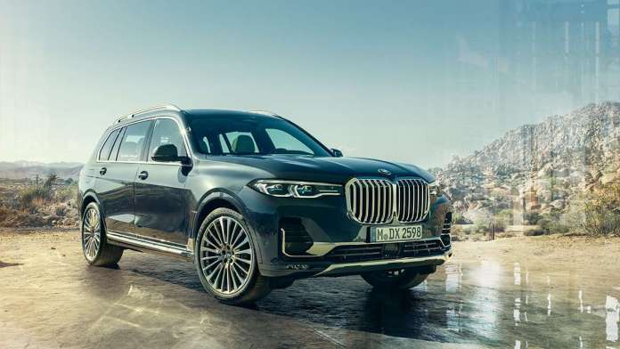 THE FIRST-EVER 2019 BMW X7 SPORTS ACTIVITY VEHICLE - Brand Spur