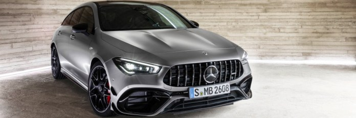 The new Mercedes-AMG CLA 45 4MATIC+ Shooting Brake: A model athlete for all eventualities (Photos) - Brand Spur