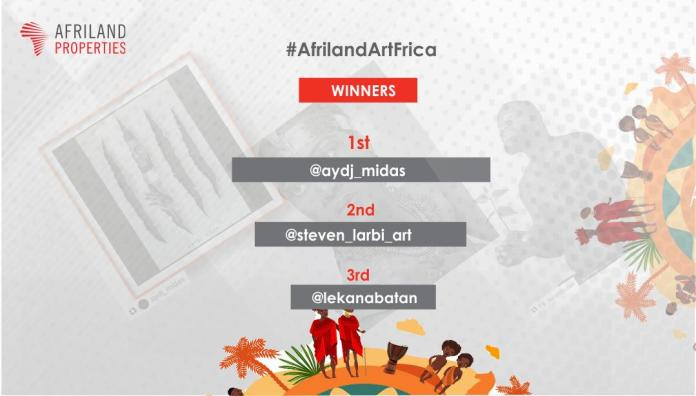 Winners of Afriland Properties Plc ArtFrica Competition Announced (Photos) - Brand Spur