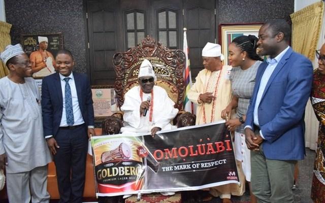 OBA AKIOLU ENDORSES NEW GOLDBERG AS JAMODU LEADS BRAND TEAM TO PALACE - Brand Spur