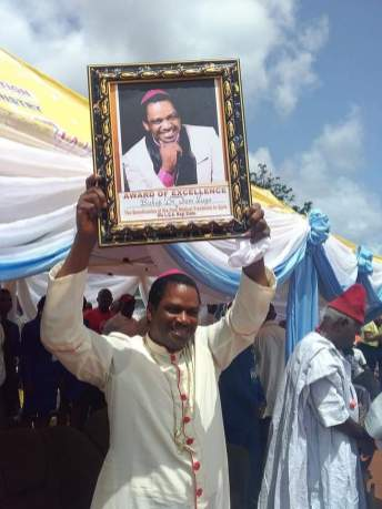 Bishop Sam Zuga Receives Award Of Excellence As He Takes Free Medical Treatment To Kogi State BRANDSPUR4