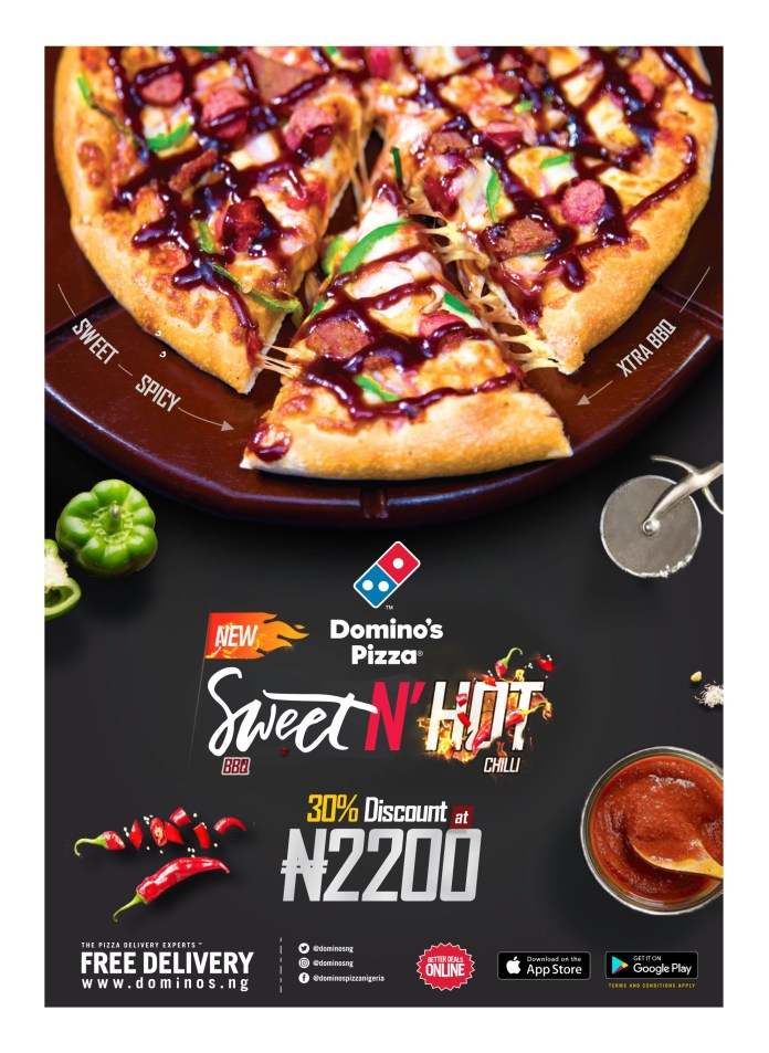 Taste The Spice Of Naija With The New Domino's Hot & Spice Flavour - Brand Spur