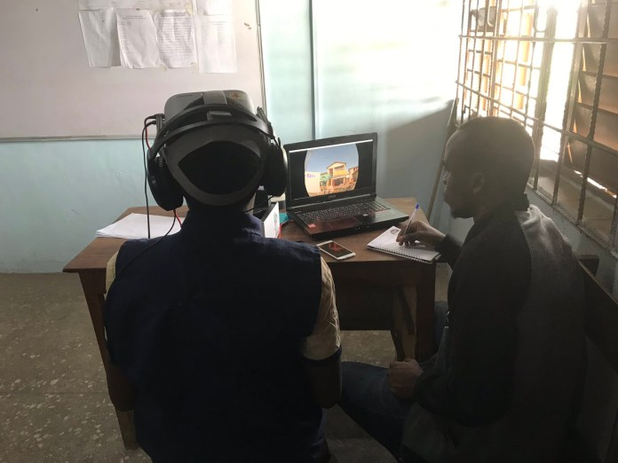 Imisi 3D pilot maths lessons with Virtual Reality in Lagos public school - Brand Spur