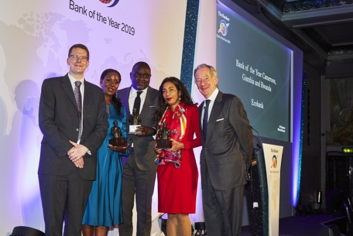 Ecobank wins Bank of the Year and Best Bank in prestigious London awards ceremonies - Brand Spur