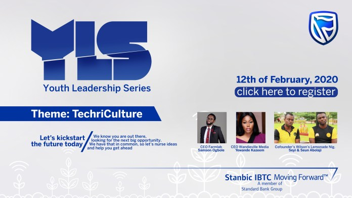 Stanbic IBTC Sets To Hold Third Edition Of Youth Leadership Series. - Brand Spur
