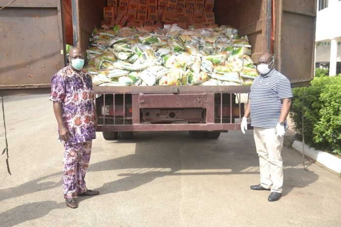 COVID-19: BEDC Donates Food Items To Franchise States, Pledges Steady Power Supply To Isolation Centers - Brand Spur