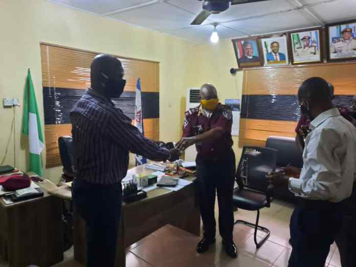 FRSC Commends GPBN For Donating Face Masks To The Agency - Brand Spur