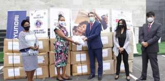 Hyundai Donates N35 million PPEs to Nigeria (Photos)