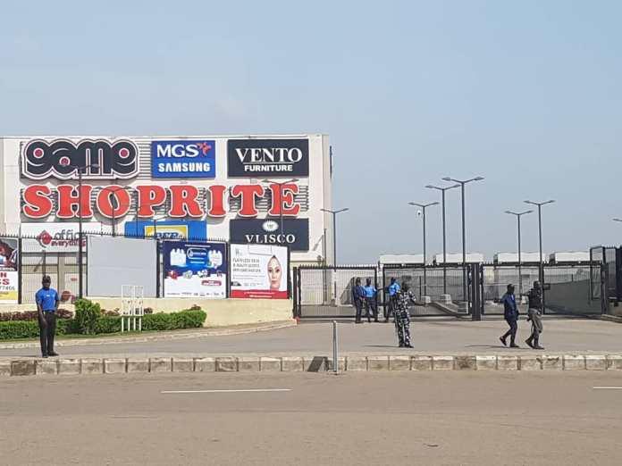 Police take over Shoprite Lugbe, Abuja