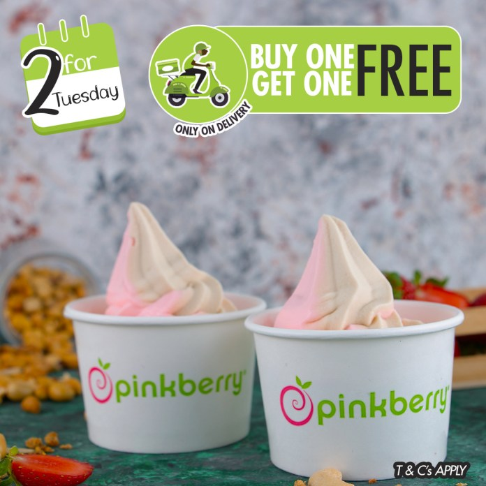 Have A September To Remember With Amazing Deals From Domino's Pizza, Cold Stone Creamery And Pinkberry Frozen Yoghurt