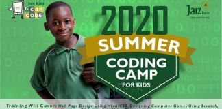 Jaiz Bank Kids can code 2020 edition is here!