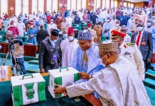 Buhari presents Nigeria's 2021 budget to National Assembly