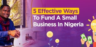 Five Effective Ways to Fund a Small Business in Nigeria