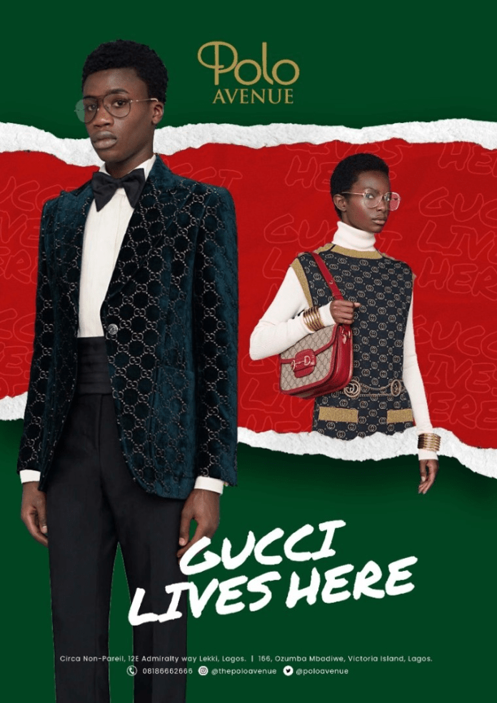 Gucci Lives at Polo Avenue Brandspurng