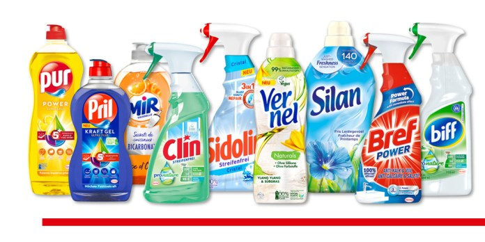 Henkel launched almost 700 million bottles made of 100% recycled plastics to the market in Europe