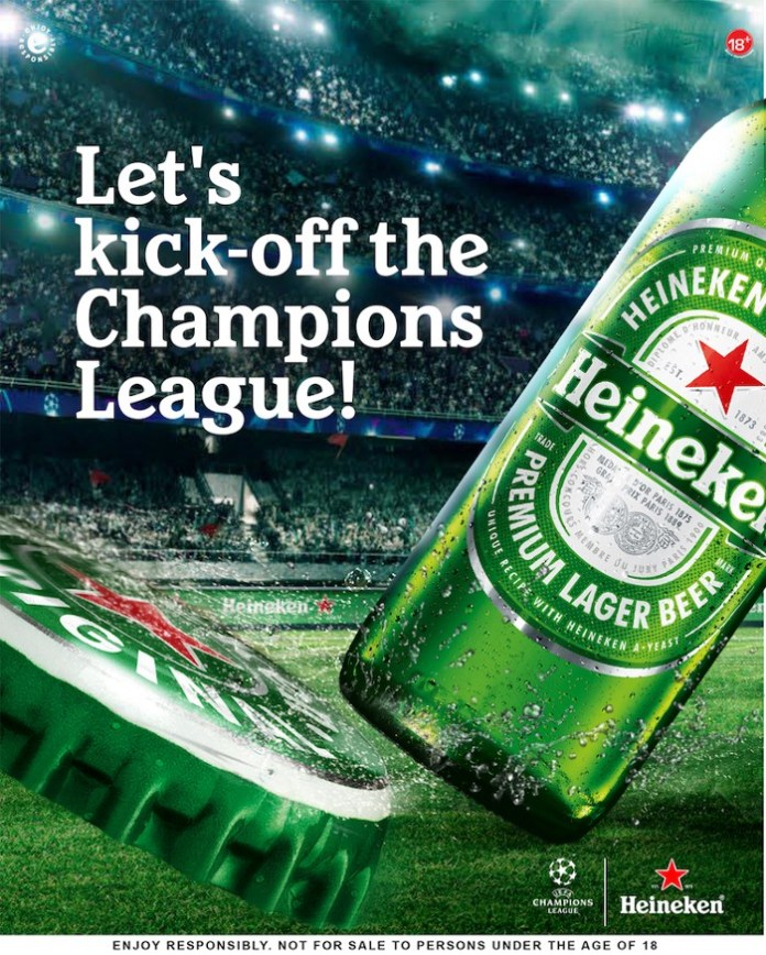 Heineken Excites Fans with New Campaign in Anticipation of the UCL Knockouts Brandspurng