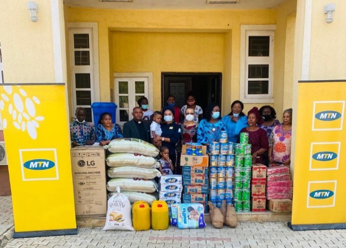 MTN Foundation Donates Gifts through its Orphanage Support initiative