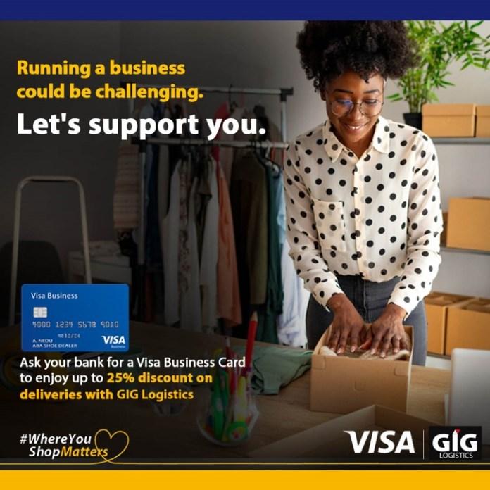 Visa and GIG Logistics partner to enable eCommerce delivery Brandspurng1