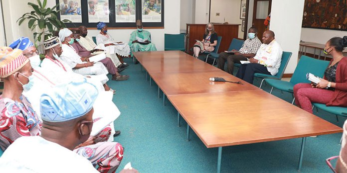 Baale Of Araromi Confers Chieftaincy Title On IITA Director General